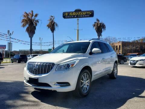 2014 Buick Enclave for sale at A MOTORS SALES AND FINANCE - 10110 West Loop 1604 N in San Antonio TX