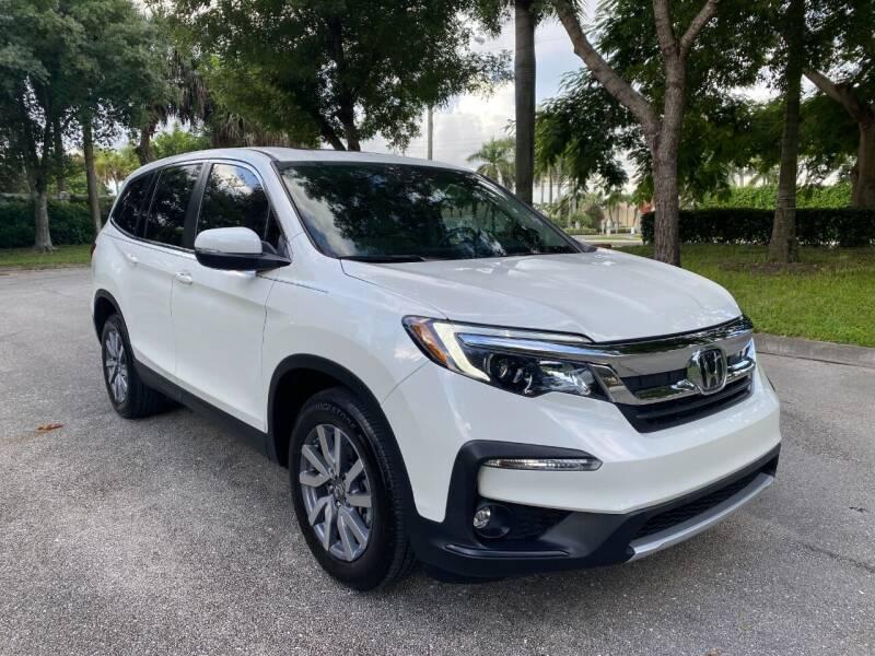 2019 Honda Pilot for sale at DELRAY AUTO MALL in Delray Beach FL