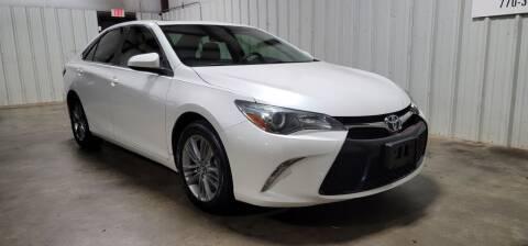 2016 Toyota Camry for sale at Matt Jones Motorsports in Cartersville GA