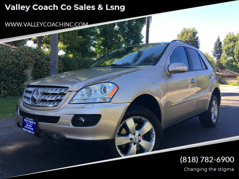 2006 Mercedes-Benz M-Class for sale at Valley Coach Co Sales & Lsng in Van Nuys CA