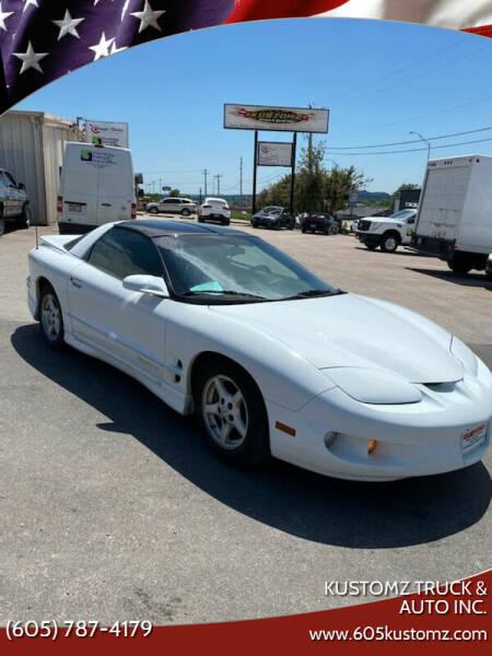 1999 Pontiac Firebird for sale at Kustomz Truck & Auto Inc. in Rapid City SD