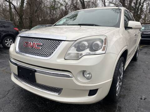 2011 GMC Acadia for sale at Atlanta's Best Auto Brokers in Marietta GA