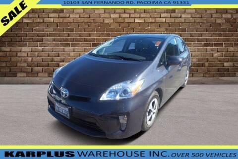 2015 Toyota Prius for sale at Karplus Warehouse in Pacoima CA