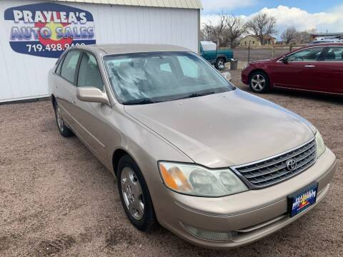 2004 Toyota Avalon for sale at Praylea's Auto Sales in Peyton CO