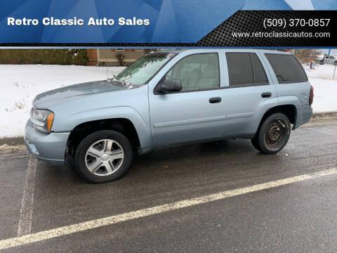 2006 Chevrolet TrailBlazer for sale at Retro Classic Auto Sales - Modern Cars in Spangle WA
