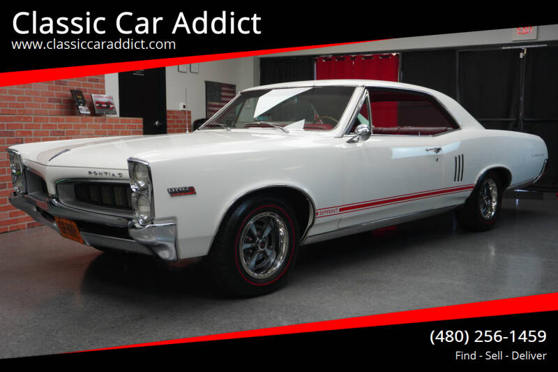 1967 Pontiac Le Mans for sale at Classic Car Addict in Mesa AZ