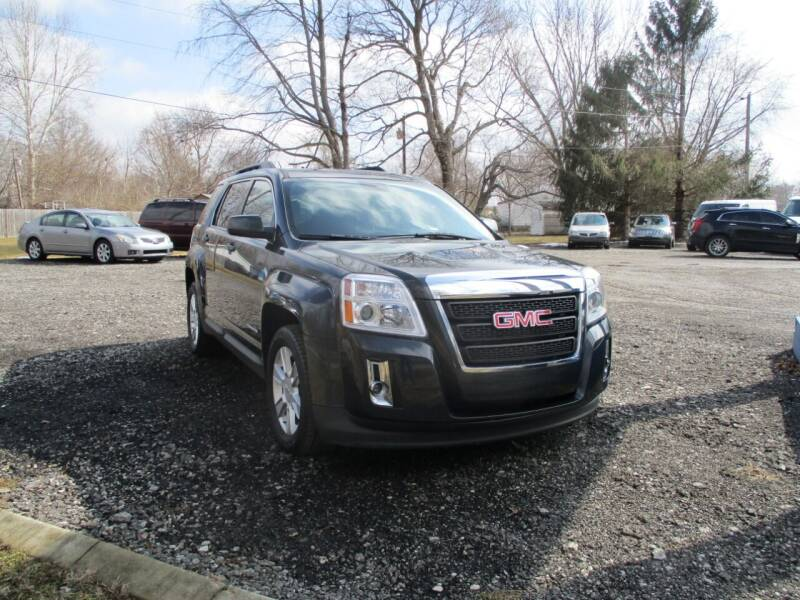 2013 GMC Terrain for sale at PENDLETON PIKE AUTO SALES in Ingalls IN