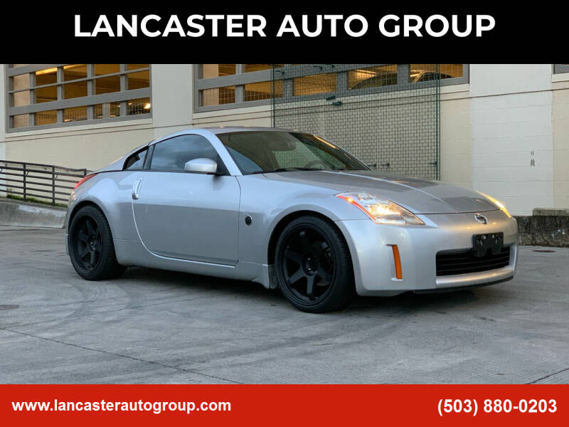 2004 Nissan 350Z for sale at LANCASTER AUTO GROUP in Portland OR
