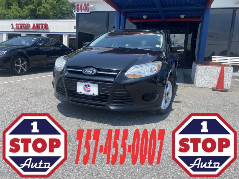 2014 Ford Focus for sale at 1 Stop Auto in Norfolk VA