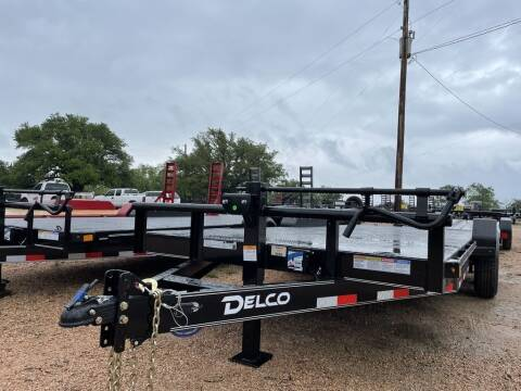 """2021 DELCO  - H. Duty Hauler - 83"""" X for sale at LJD Sales in Lampasas TX"""