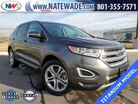 2017 Ford Edge for sale at NATE WADE SUBARU in Salt Lake City UT
