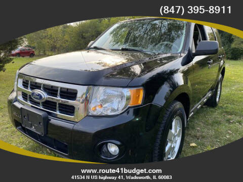 2012 Ford Escape for sale at Route 41 Budget Auto in Wadsworth IL