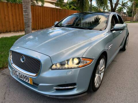 2011 Jaguar XJ for sale at FINANCIAL CLAIMS & SERVICING INC in Hollywood FL