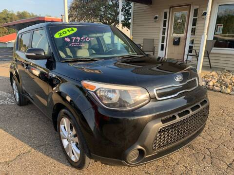 2014 Kia Soul for sale at G & G Auto Sales in Steubenville OH