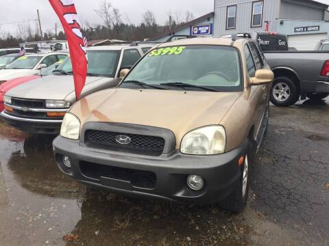 2004 Hyundai Santa Fe for sale at Classic Heaven Used Cars & Service in Brimfield MA