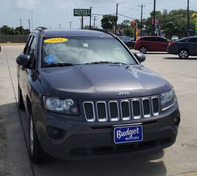 2016 Jeep Compass for sale at Budget Motors in Aransas Pass TX