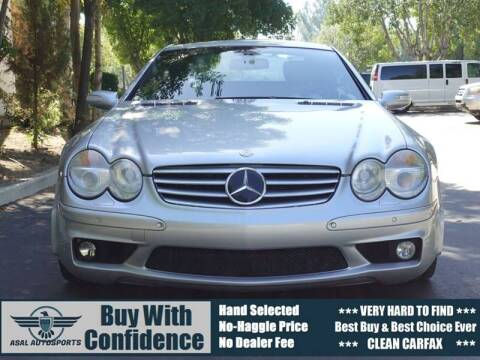 2005 Mercedes-Benz SL-Class for sale at ASAL AUTOSPORTS in Corona CA