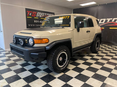 2010 Toyota FJ Cruiser for sale at T & S Motors in Ardmore TN