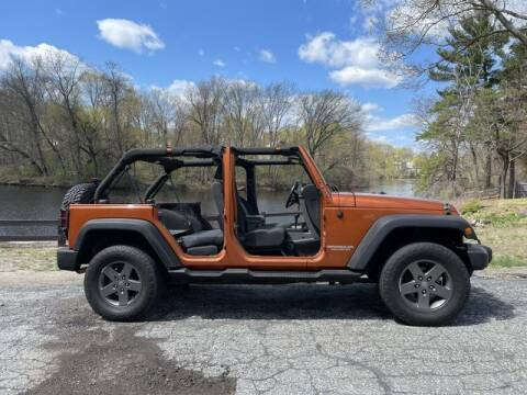 2010 Jeep Wrangler Unlimited for sale at Matrix Autoworks in Nashua NH
