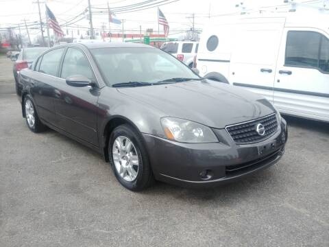 2005 Nissan Altima for sale at Viking Auto Group in Bethpage NY
