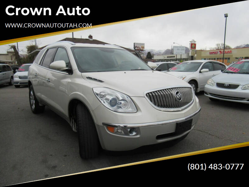 2008 Buick Enclave for sale at Crown Auto in South Salt Lake City UT