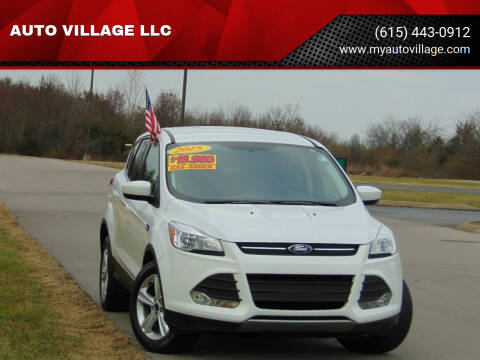 2015 Ford Escape for sale at AUTO VILLAGE LLC in Lebanon TN