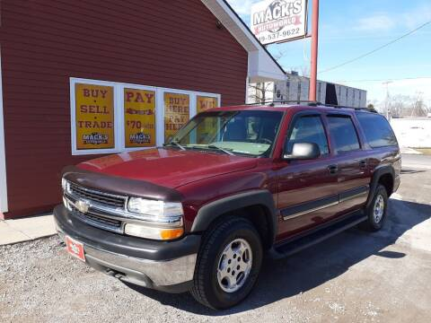 2005 Chevrolet Suburban for sale at Mack's Autoworld in Toledo OH