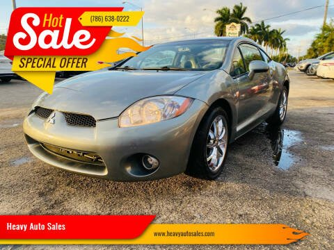 2007 Mitsubishi Eclipse for sale at Heavy Auto Sales in Miami FL