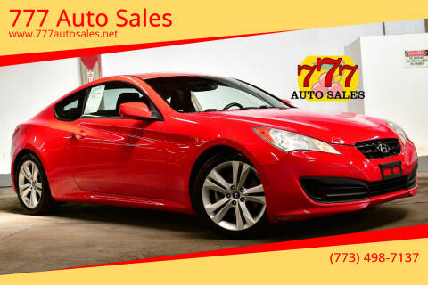 2010 Hyundai Genesis Coupe for sale at 777 Auto Sales in Bedford Park IL