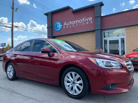 2016 Subaru Legacy for sale at Automotive Solutions in Louisville KY
