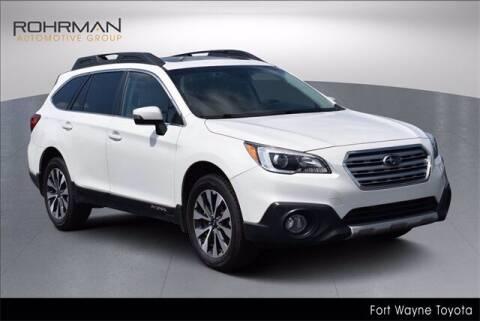 2016 Subaru Outback for sale at BOB ROHRMAN FORT WAYNE TOYOTA in Fort Wayne IN