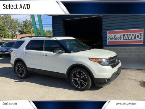 2014 Ford Explorer for sale at Select AWD in Provo UT