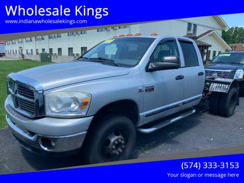 2007 Dodge Ram Pickup 3500 for sale at Wholesale Kings in Elkhart IN