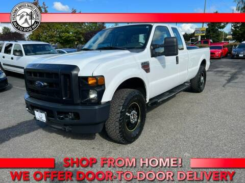 2010 Ford F-250 Super Duty for sale at Auto 206, Inc. in Kent WA