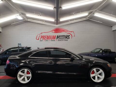 2012 Audi A5 for sale at Premium Motors in Villa Park IL