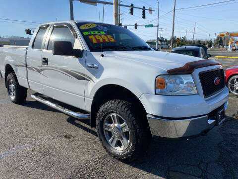 2005 Ford F-150 for sale at Low Auto Sales in Sedro Woolley WA