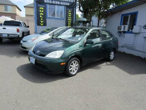 2001 Toyota Prius for sale at ARISTA CAR COMPANY LLC in Portland OR