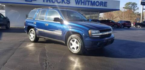 2004 Chevrolet TrailBlazer for sale at Whitmore Chevrolet in West Point VA