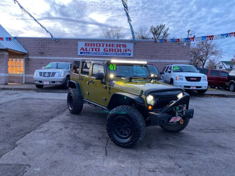 2007 Jeep Wrangler Unlimited for sale at Brothers Auto Group in Youngstown OH