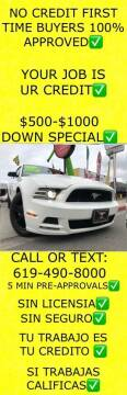 2013 Ford Mustang for sale at Auto Express in Chula Vista CA