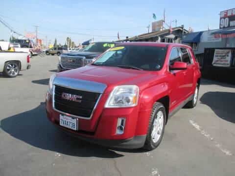 2014 GMC Terrain for sale at Quick Auto Sales in Modesto CA