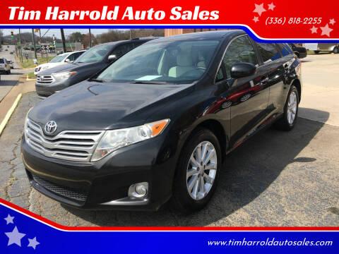 2011 Toyota Venza for sale at Tim Harrold Auto Sales in Wilkesboro NC