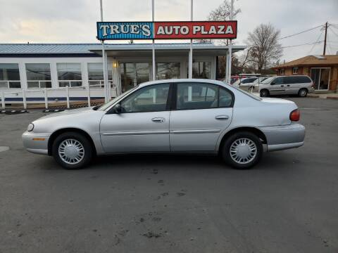 2002 Chevrolet Malibu for sale at True's Auto Plaza in Union Gap WA