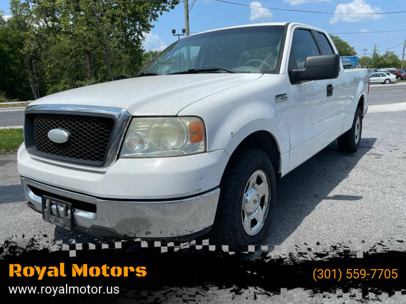 2008 Ford F-150 for sale at Royal Motors in Hyattsville MD