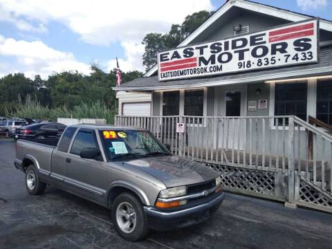 1999 Chevrolet S-10 for sale at EASTSIDE MOTORS in Tulsa OK