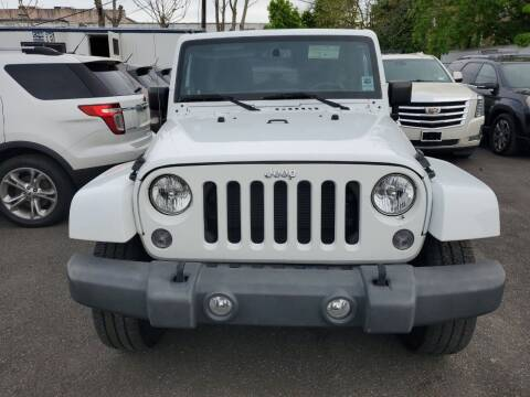 2014 Jeep Wrangler Unlimited for sale at OFIER AUTO SALES in Freeport NY