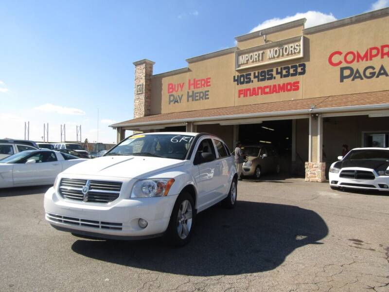 2012 Dodge Caliber for sale at Import Motors in Bethany OK