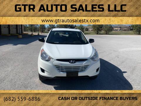 2010 Hyundai Tucson for sale at GTR Auto Sales LLC in Haltom City TX