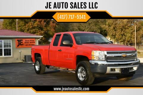 2013 Chevrolet Silverado 1500 for sale at JE AUTO SALES LLC in Webb City MO