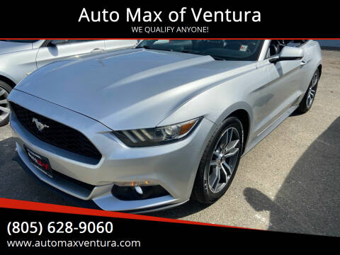 2015 Ford Mustang for sale at Auto Max of Ventura in Ventura CA